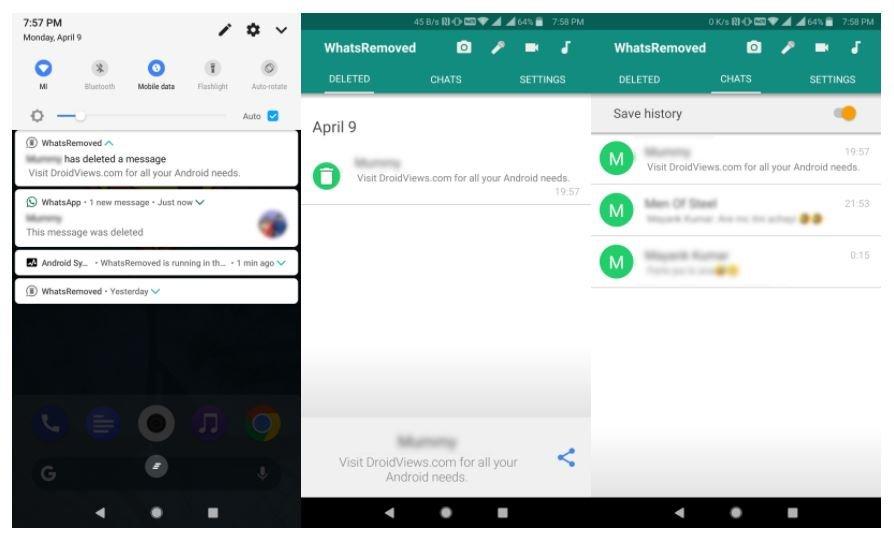 كيفية إستعادة الرسائل المحذوفة من واتساب WhatsApp 4
