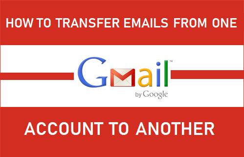 كيفية نقل البريد الإلكتروني من حساب جيميل الي حساب جيميل آخر
