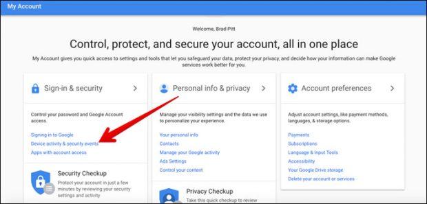 كيفية حذف حساب جوجل Google Account من هاتفك المسروق 2