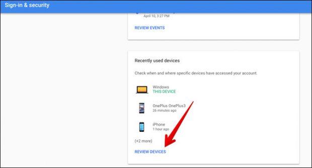 كيفية حذف حساب جوجل Google Account من هاتفك المسروق 3