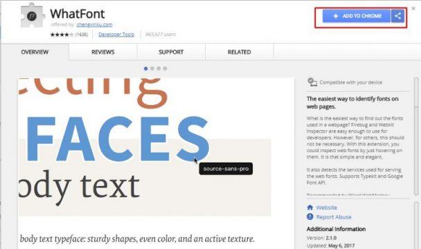 """كيف تعرف نوع و أسم أي خط """" فونت Font """" من أي صورة"""