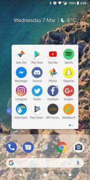 """تثبيت لانشر أندرويد P 9.0 علي هاتفك """" لانشر بيكسل """""""
