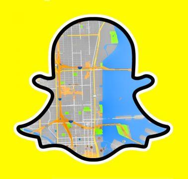 طلب أو مشاركة الموقع مع أصدقائك في تطبيق SnapChat