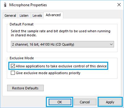 طريقة حل مشكلة الصوت في برنامج سكايب بنظام ويندوز 10 9