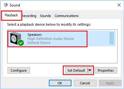 طريقة حل مشكلة الصوت في برنامج سكايب بنظام ويندوز 10 13