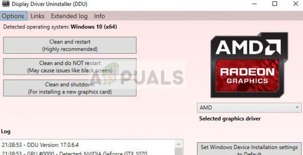 حل مشكلة AMD Software has stopped working