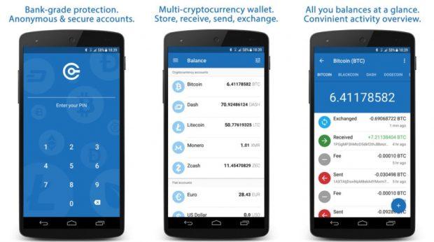 """افضل تطبيقات لمحافظ العملات الرقمية """"بيتكوين"""" للاندرويد 5"""