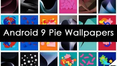 تحميل الخلفيات الرسميه لنظام أندرويد باي Android Pie بدقه عاليه 2