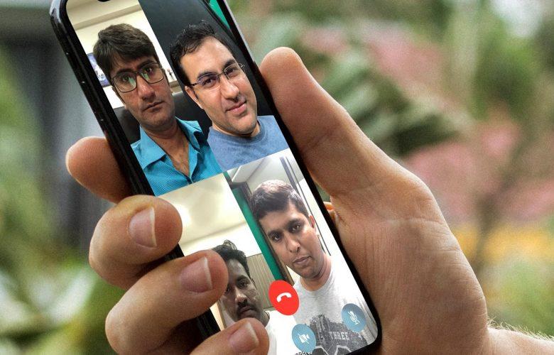 كيفية إستخدام مكالمات الفيديو الجماعية في تطبيق واتساب علي هواتف آيفون