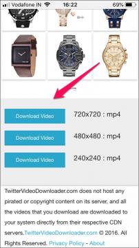 شرح كيفية تحميل الفيديوهات من تويتر لهواتف الأيفون 5