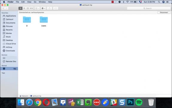 شرح كيفية نقل الملفات من ويندوز إلى ماك بدون برامج 15