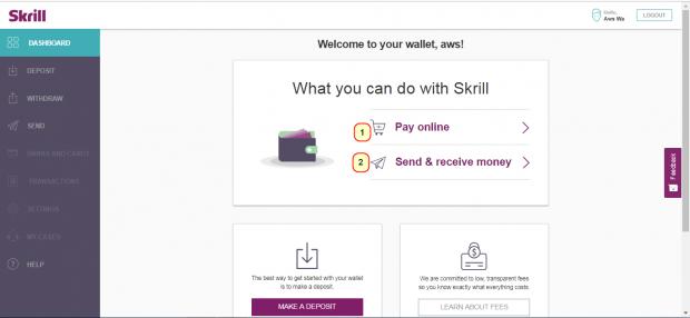 إنشاء حساب على بنك سكريل