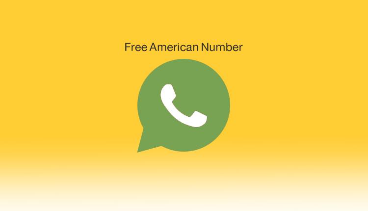 رقم أمريكي افتراضي وهمي