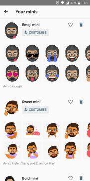 """شرح كيفية إنشاء ملصقات تعبيرية مخصصة """"Emoji"""" في Gboard 6"""