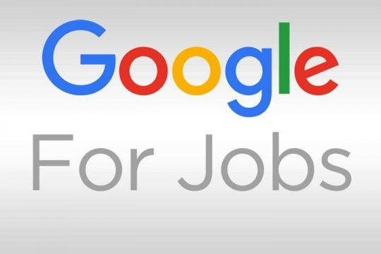 موقع Google for Jobs