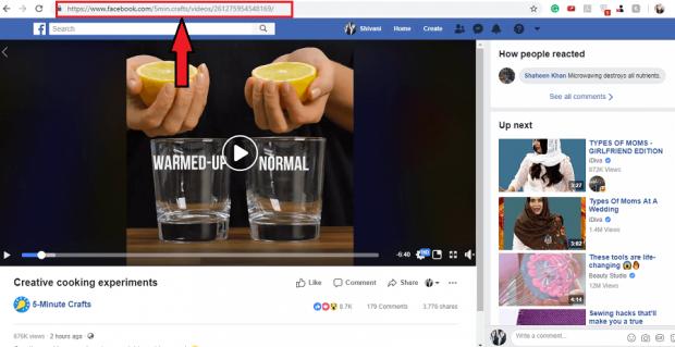 شرح كيفية تحميل فيديوهات الفيسبوك على الكمبيوتر بطريقة سهلة 2