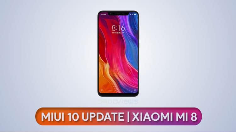 تثبيت MIUI 10على هاتف شاومي مي 8