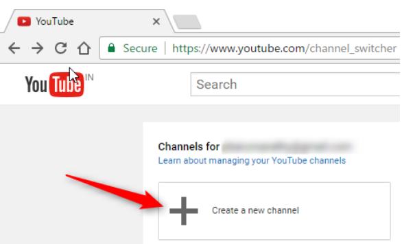 طريقة إنشاء اكثر من قناه يوتيوب على حساب جوجل واحد 2