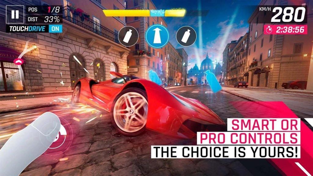 لعبة سباق السيارات ASPHALT 9 LEGENDS