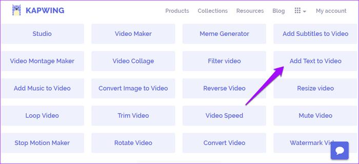 شرح كيفية تحويل النص إلى فيديو بدون برامج 2