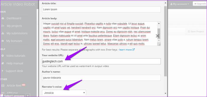 شرح كيفية تحويل النص إلى فيديو بدون برامج 4