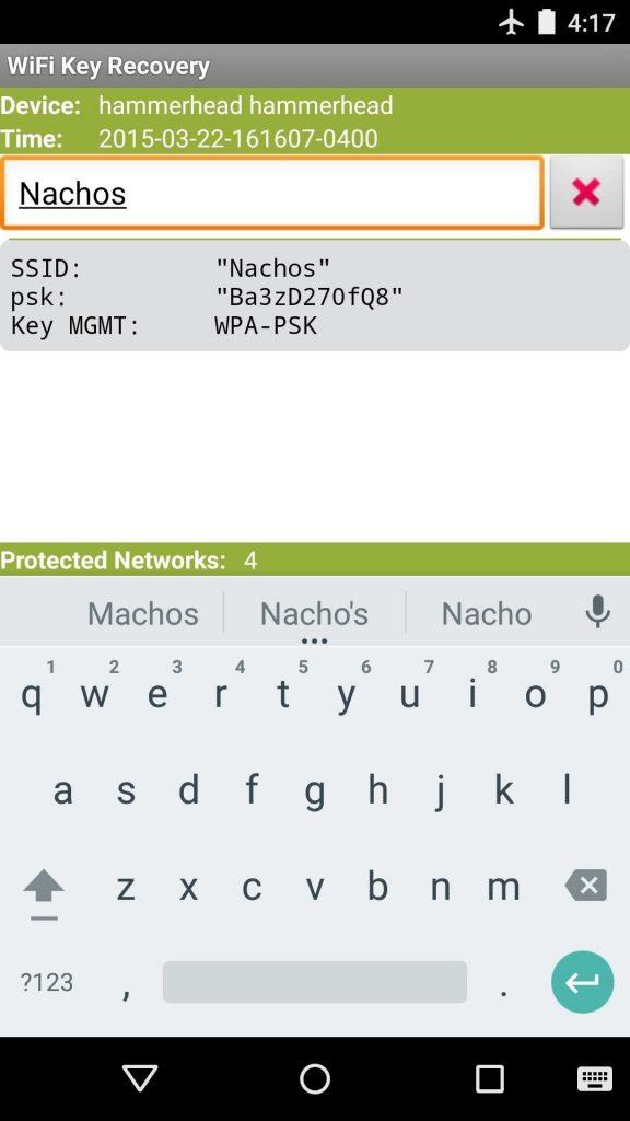 طريقة معرفة باسوورد الـ Wi-Fi المتصل بموبايلك الأندرويد 5