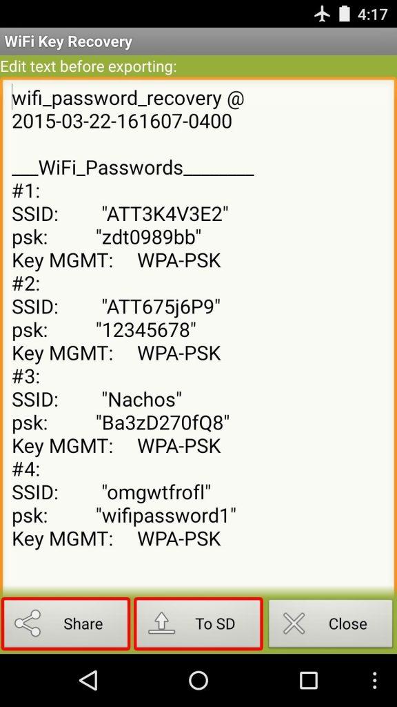طريقة معرفة باسوورد الـ Wi-Fi المتصل بموبايلك الأندرويد 8