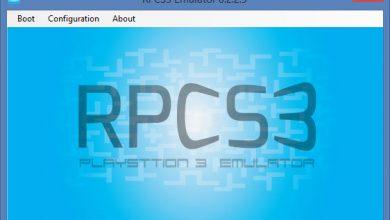طريقة تشغيل ألعاب PS3 على الكمبيوتر محاكي RPCS3