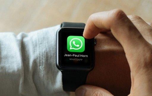 تشغيل واتساب على ساعة أبل