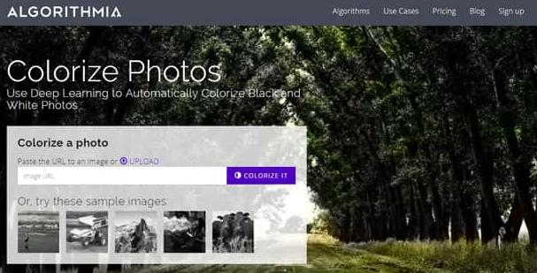 تلوين صور الأبيض والأسود بالألوان بدون برامج