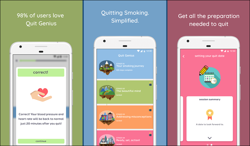 أفضل التطبيقات لتعديل سلوك المدخن