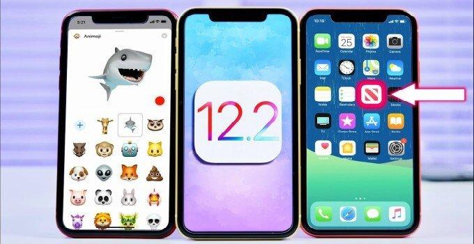 تحميل نظام iOS 12.2 للأيباد وللأيفون
