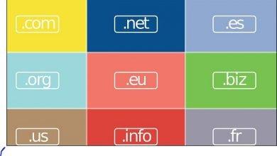 ما هو الفرق بين النطاقات com / .net / .org / .info 3