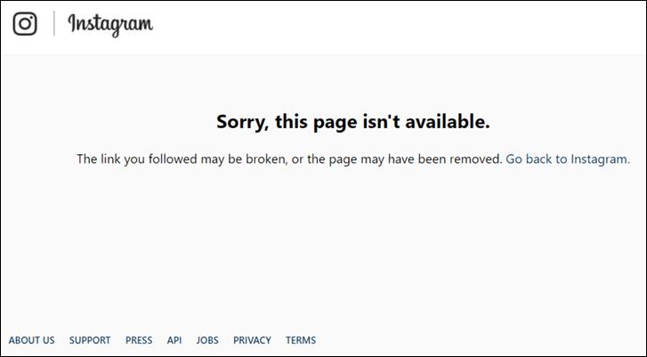 لا يتم ظهور صفحة المستخدم