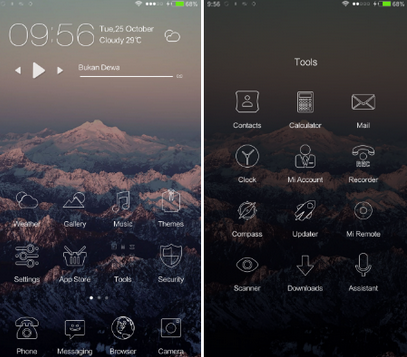ثيمات MIUI لهواتف Xiaomi/Redmi