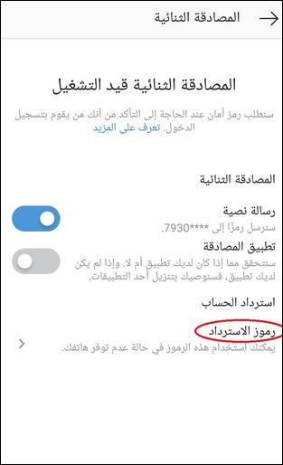 طريقة تأمين حساب انستجرام Instagram الخاص بك 8