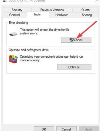 طريقة اصلاح مشكلة عدم عمل وظيفة النسخ واللصق Windows 5