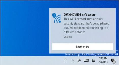 كيفية حل مشكلة شبكة الواي فاي غير آمنة في ويندوز 10