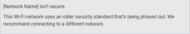 كيفية حل مشكلة شبكة الواي فاي غير آمنة في ويندوز 10 1