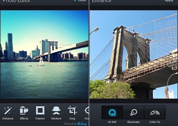 تطبيقات تعديل الصور