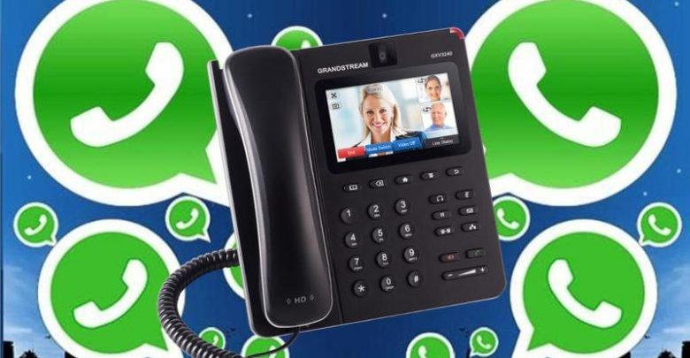 Photo of طريقة تفعيل الواتس اب برقم الهاتف الارضي للمنزل