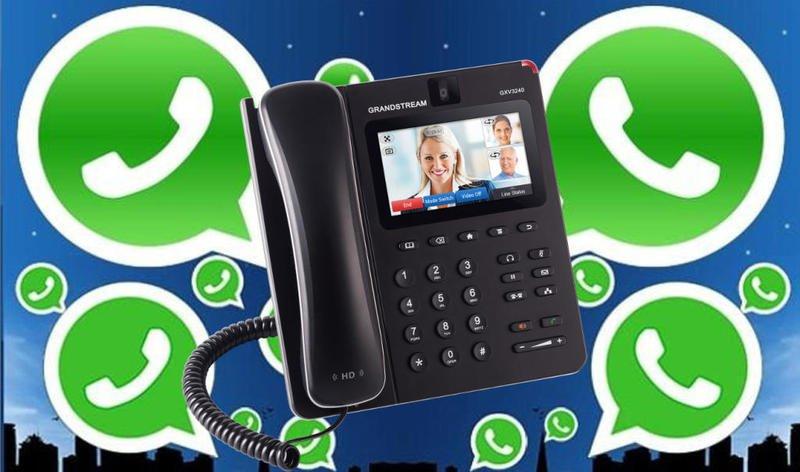 كيفية تفعيل الواتس اب برقم الهاتف الارضي للمنزل