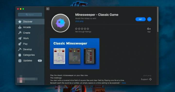 كيفية لعب ماسح الألغام Classic Minesweeper على الماك