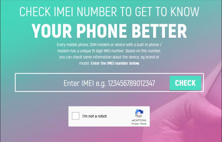 طريقة التحقق من حالة ضمان الايفون والاندرويد باستخدام موقع imei.info