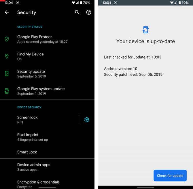 كل ما تريد معرفته حول android 10 واهم المميزات وكيفيه استخدمها