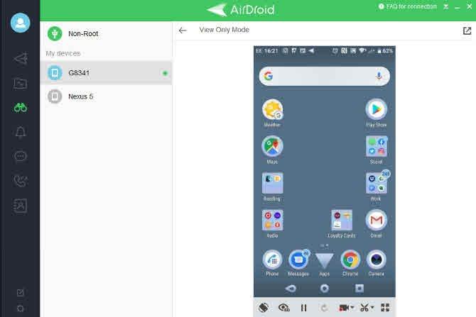 تطبيقات تسجيل الشاشة على الأندرويد 1