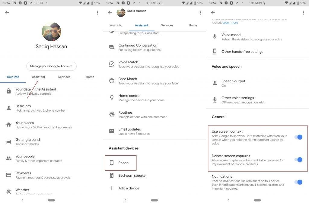 كيفيه أخذ لقطة شاشة في التطبيقات المحظورة 2