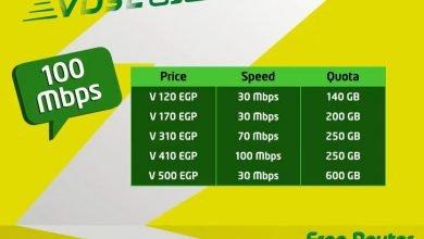 Photo of كل ما تريد معرفتة عن باقات ال VDSL الجديدة من اتصالات