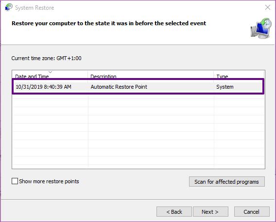 حل مشكلة عدم إعادة ضبط الكمبيوتر