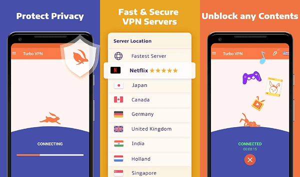 أسرع وأفضل 12 تطبيق VPN مجاني للاندرويد  2020 11